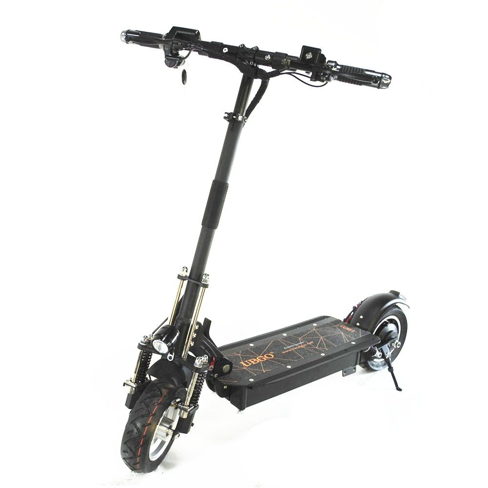 UBGO 1003+ Single Driver Scooter upgrade version with Improved Front Suspension and Shockproof Direction Bar