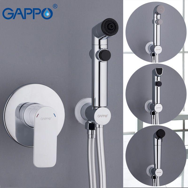 GAPPO blanc Bidets douche hygiénique salle de bains bidet mélangeur musulman douche pour toilette bidet wall mount spray pour la toilette