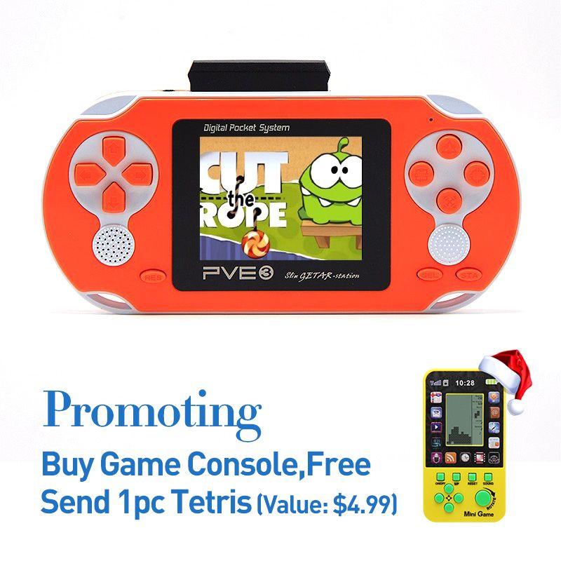 Livraison gratuite 999999 en 1 classique différents jeux 2.5 pouces 8bit NES couleur affichage portable Console de jeu joueur enfants cadeau