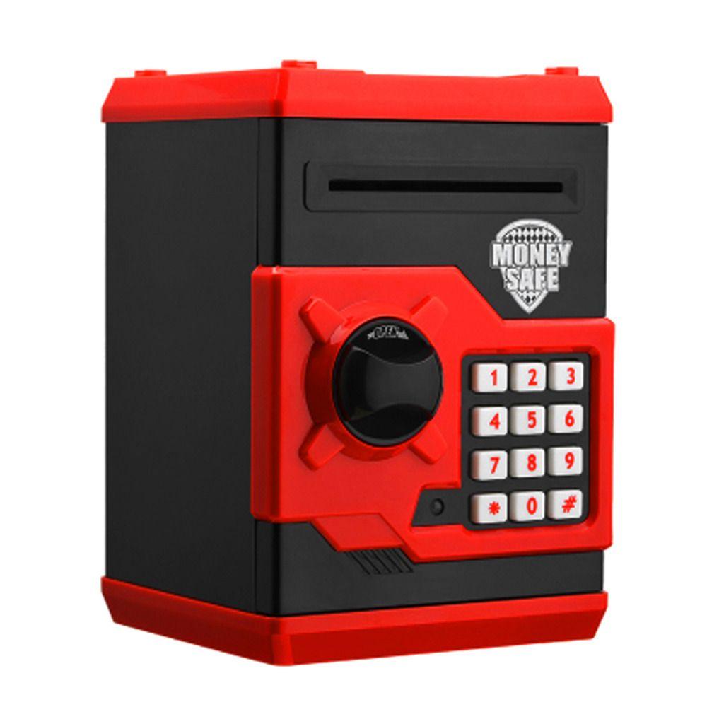 Tirelire électronique ATM Mini tirelire mot de passe de sécurité à mâcher pièce de monnaie dépôt d'argent Machine cadeau pour enfants enfants