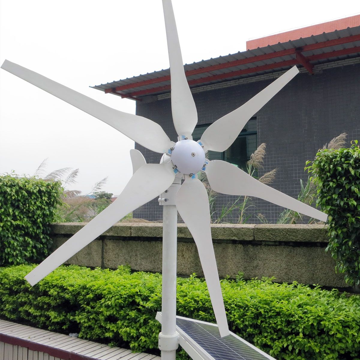 500W 12V/24V Environmental 6 Blades Miniature Wind Turbine Mini Wind Turbine Energy Generator Residential Home With Controller