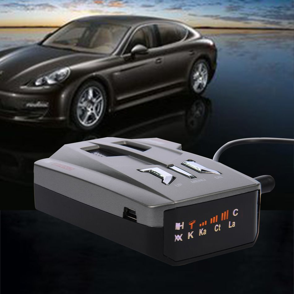 V9 12V Car English Russian Voice OEM Language. LED Display.Driving Safely Avoiding Fine.Laser Anti Radar Detector