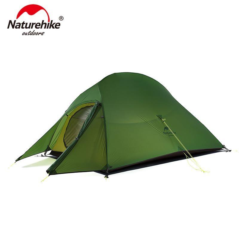 Naturehike Verbesserte Wolke Bis 2 Ultraleicht Zelt Freistehende 20D Stoff Camping Zelte Für 2 Person Mit kostenloser Matte NH17T001-T