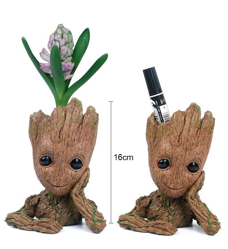 Bébé Pot de Fleurs Figurines Mignon Modèle Jouet Stylo Pot Meilleurs Cadeaux Pour Les Enfants 1 PC