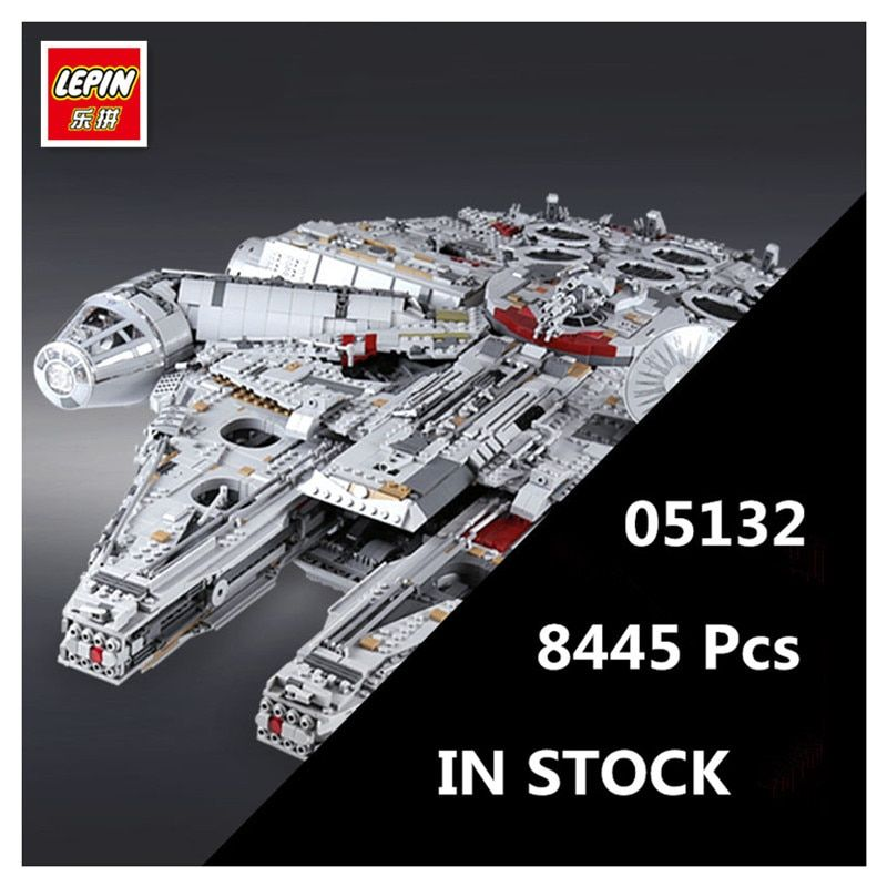 IN STOCK LEPIN 05132 8445Pcs Star Series Wars Ultimate Collector's Model Destroyer Building Bricks Children Toys with 75192