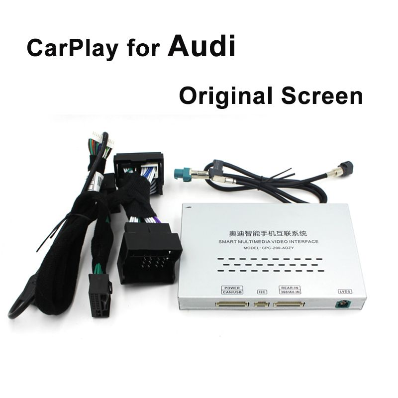 Video Interface with Apple Carplay Android Auto for A1 A3 Q3 A4 A6 A5 B9 Q5 Q7 Original Screen Upgrade MMI system iOS AirPlay