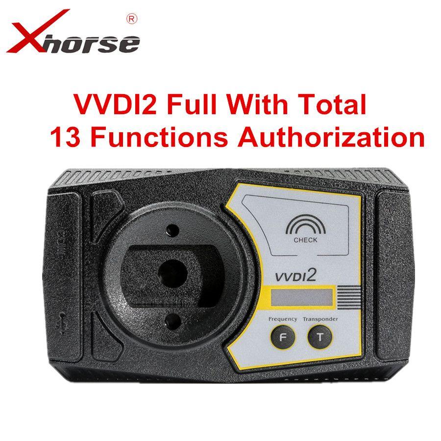 Xhorse VVDI2 Volle Version V6.5.1 Für V-W/Audi/BMW/Porsche/PSA Plus Für BMW FEM BDC ID48 96bit ID48 OBDII MQB Alle Genehmigung