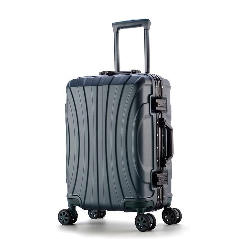 Bavul Set Kabine Koffer Voyageur Aluminium Legierung Rahmen Valiz Trolley Carro Mala Viagem Gepäck Koffer 20