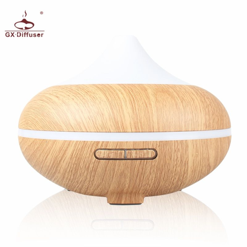 GX.Diffuser 500ml Essential Oil Diffuser Aromatherapy Electric Aroma Diffuser Ultrasonic Air Humidifier Home Mist Maker Purifier