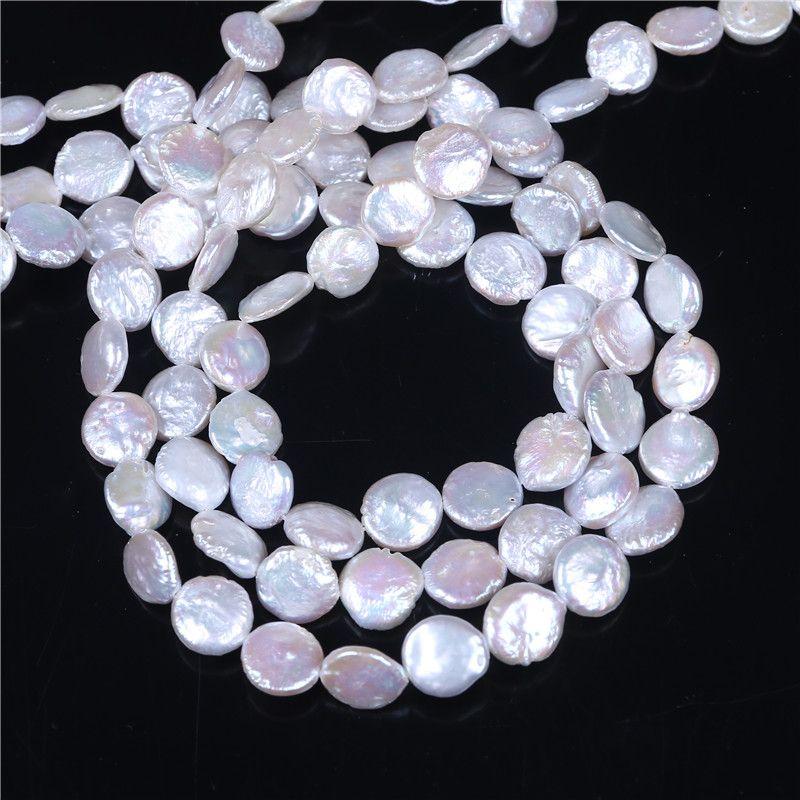 Perle de culture perle d'eau douce perles, inspirant, naturel, blanc, 10-11mm, trou: environ 0.8mm, vendu par brin de 16 pouces