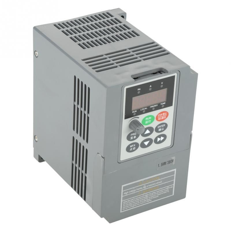 1 PC 1.5KW Variable Frequency Drive 380V Frequency converter Universal Three- Phase Variable Frequency Drive Converter inverter