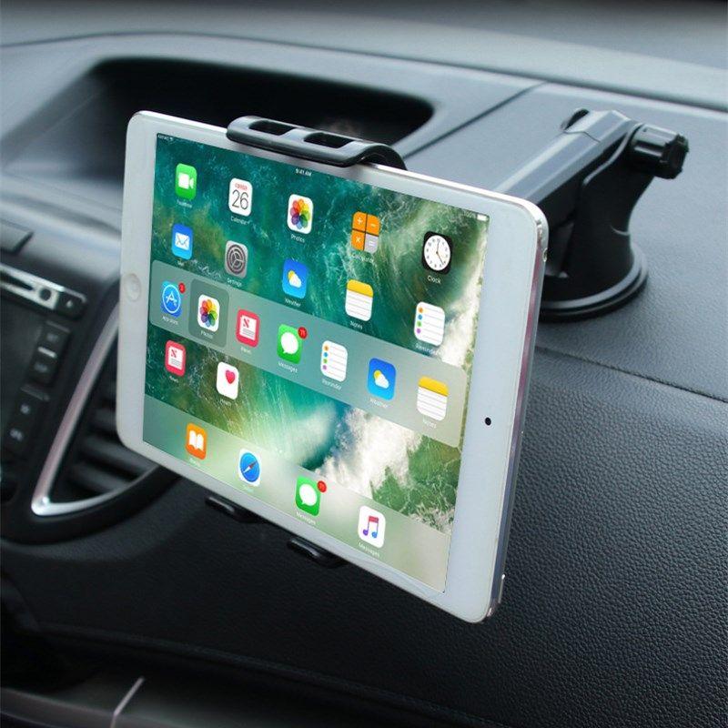Voiture téléphones tablettes support pour samsung Huawei IPAD pro air mini 1234 GPS 360 degrés réglable Mobile ventouse support support