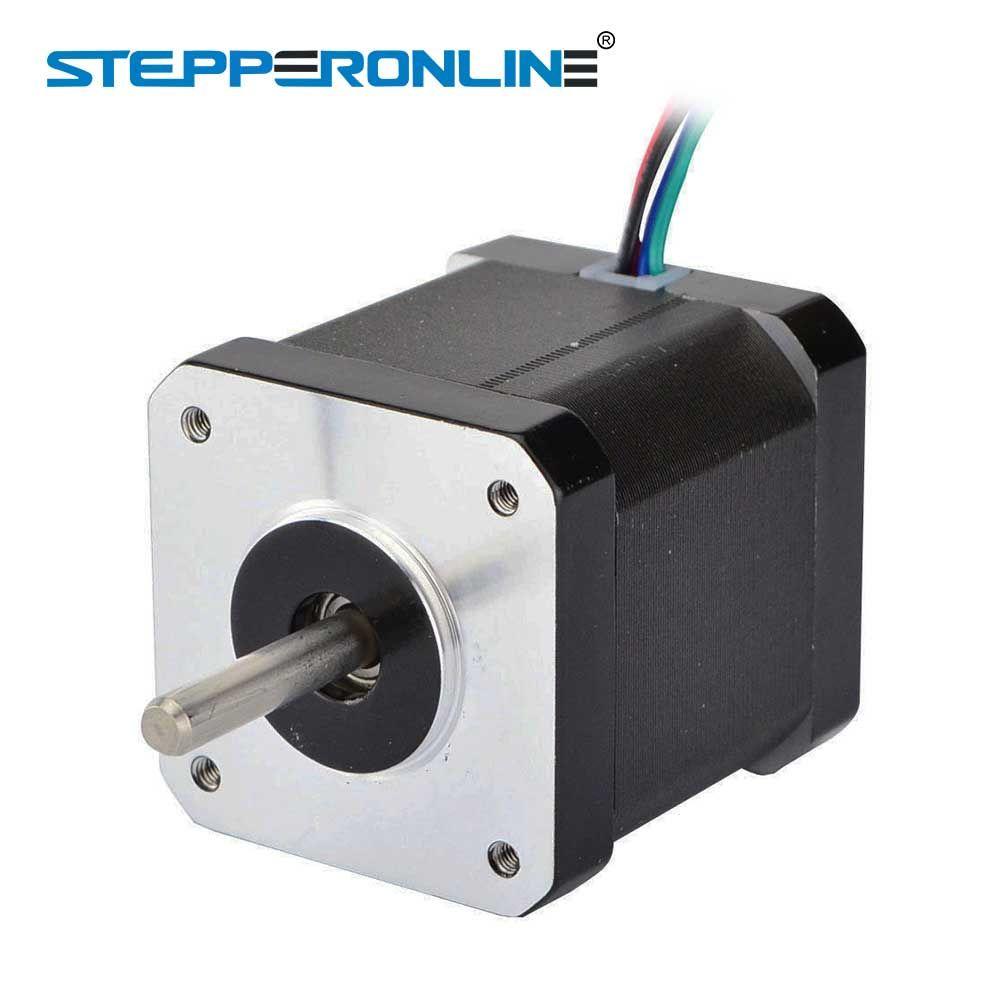 0.9deg Nema 17 Stepper Motor 2A 42x48mm 46Ncm/65oz.in 4-lead Nema17 Stepper 42 Motor for DIY 3D Printer CNC Robot