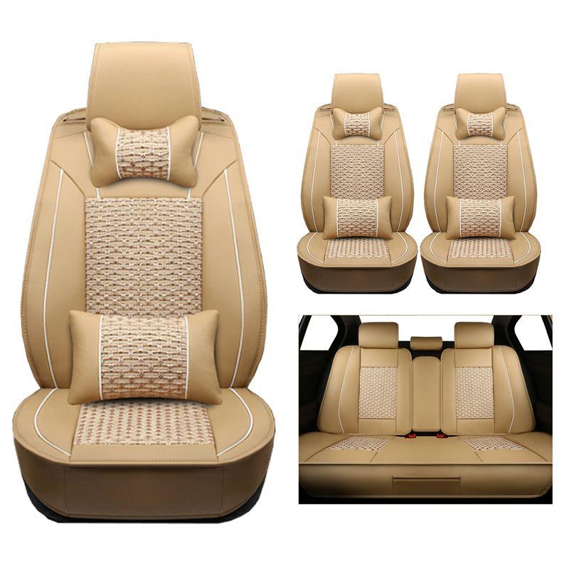 Auto sitzbezüge Für chrysler 300c fiat 500 zubehör peugeot 407 volvo v40 toyota camry 40 lexus gx470 auto Styling protector