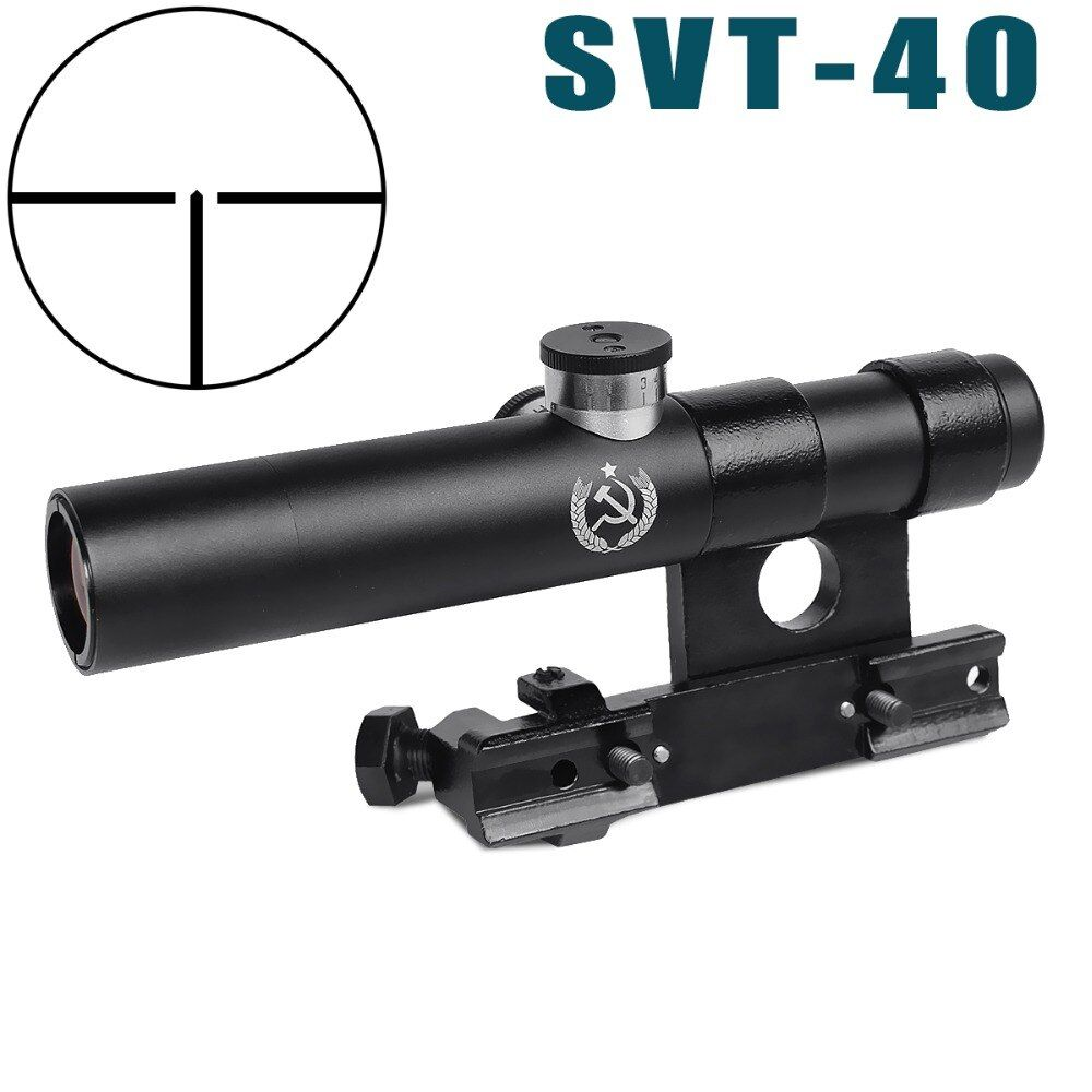 3.5X Shockproof Multi-coated SVT-40 Scope Shockproof SVD Mosin Nagant hunting Rifle Scope AK riflescope AKscop hunting optics