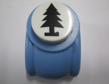 Envío libre 2-2.5 CM árbol de navidad forma de espuma EVA perforadora de papel hechos a mano golpea, Handmade Scrapbook perforadora bricolaje juguete
