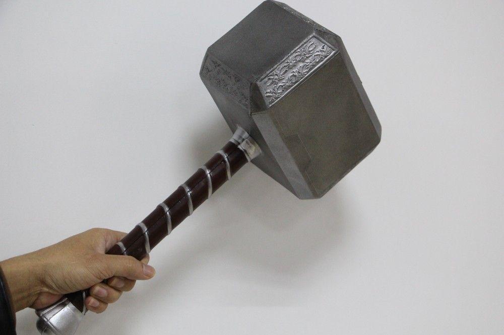 New types 1:1 Scale Thor Hammer Mjolnir 1/1 Replica Thor Custom Cosplay Hammer
