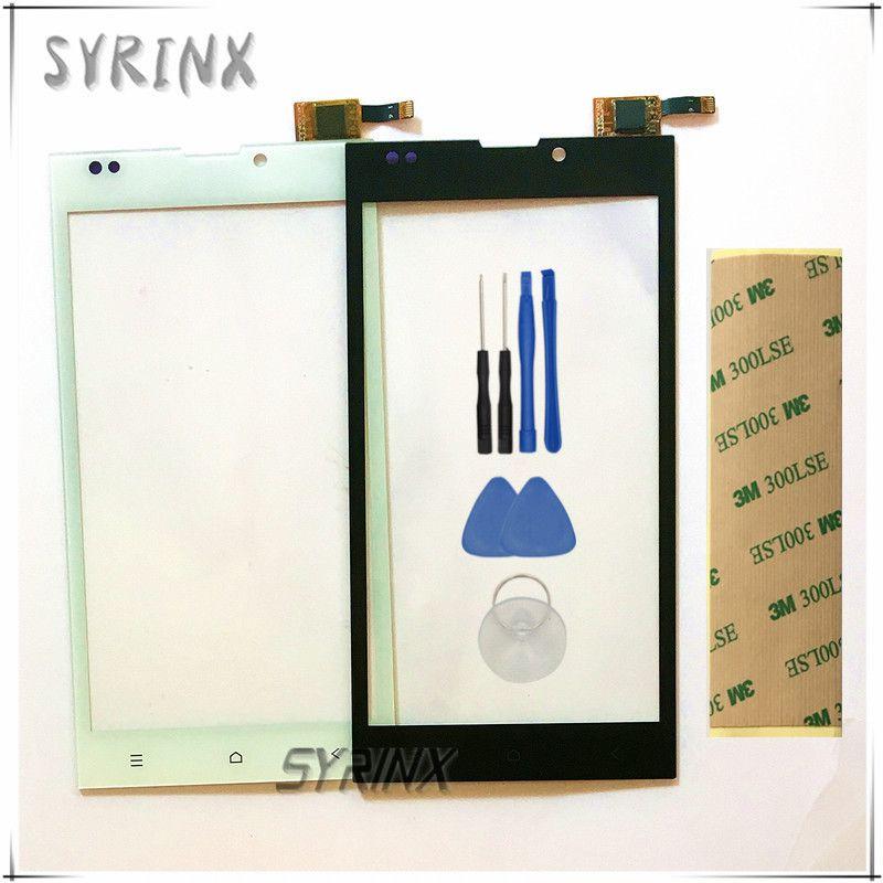 Syrinx Livraison Outils Bande Écran Tactile Capteur Pour DEXP Ixion EL150 EL 150 smartphone Écran Tactile Panneau Avant Lentille En Verre Digitizer