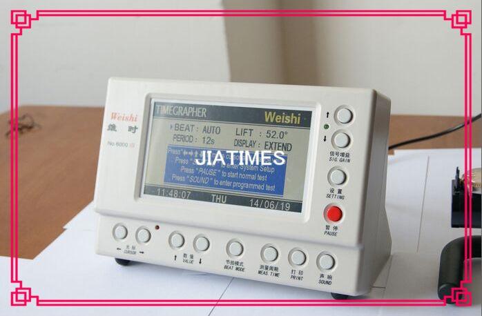 Kostenloser Versand 1 stück Weishi NO.6000III Multifunktions Timegrapher Zeitwaage für Uhrmacher