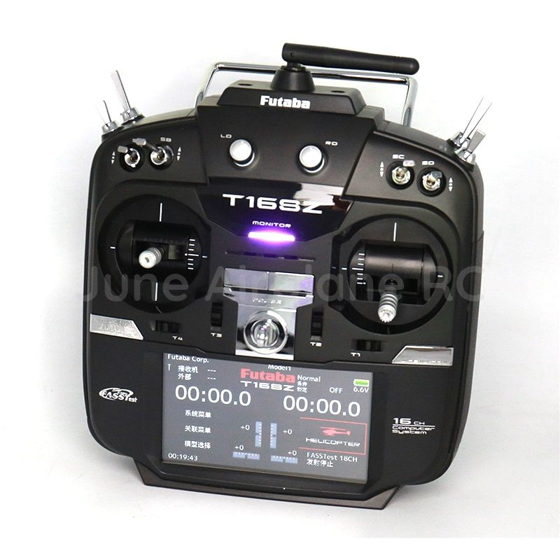 Original Futaba 16SZ remote control(Ni-MH) with R7008SB receiver 2.4G for helicopter