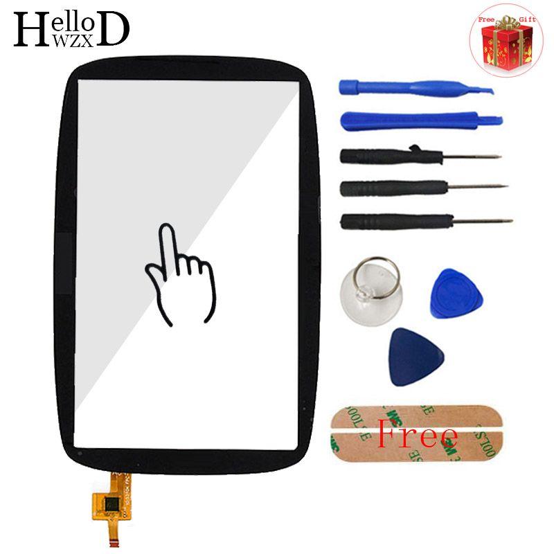 A + + + Mobile Touch Glas Für Tomtom GO 600 GEHEN 6000 Touch bildschirm Digitizer Tafelfront Objektiv Sensor Part Werkzeuge Freies Klebstoff + geschenk