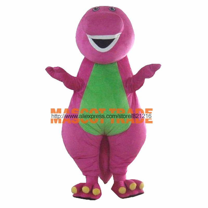 2014 marke Neue Nach maß qualität Erwachsene Barney Cartoon Maskottchen Kostüme Erwachsene Größe