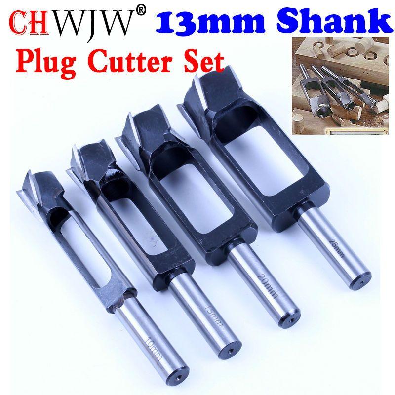 Haute Qualité Tenon Cheville & Plug Cutter Tenon Maker, conique Serré Plug Cutters