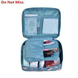 Ne Manquez Pas Drop ship haute qualité Make Up Sac femmes étanche Cosmétique Maquillage sac organisateur voyage pour articles de toilette de toilette kit