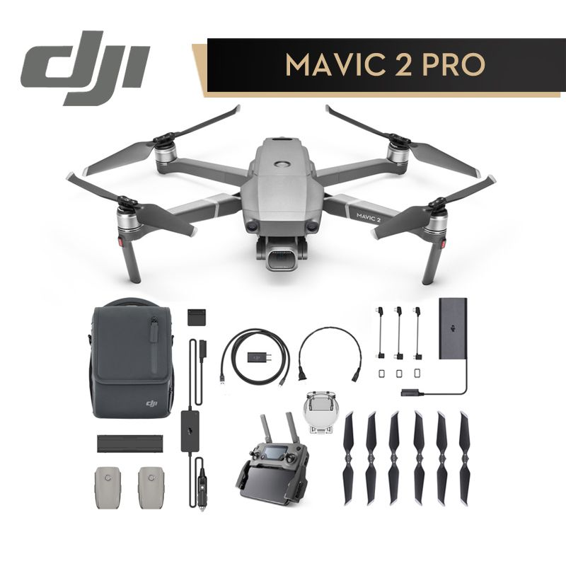 DJI Mavic 2 Pro Zoom Fliegen Mehr Combo Kit In Shop DJI Brille RE Combo für mavic 2 4 karat video RC Hubschrauber FPV Quadcopter Original