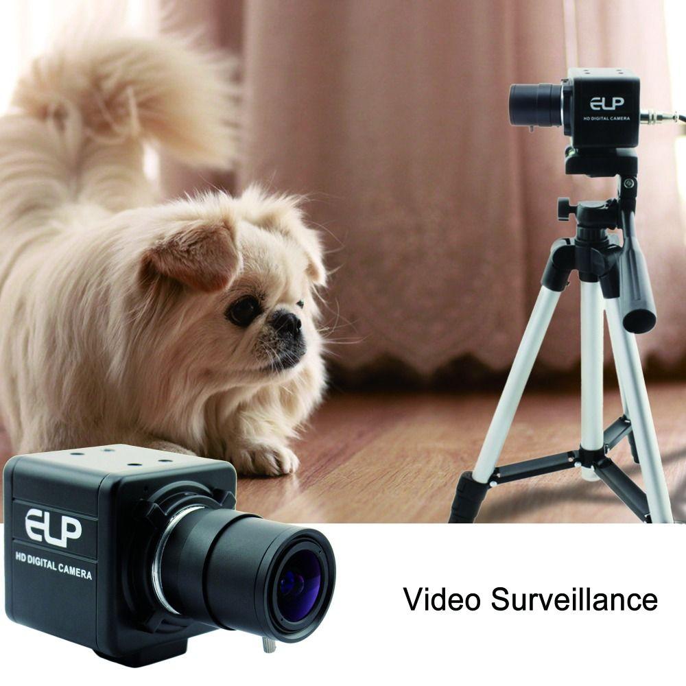 2MP FUll HD 1080 P Sony IMX322 Niedrigen Licht OTG UVC H264/MJPEG 30fps 5-50mm Vario Usb Webcam Kamera Mit Audio MIC für PC laptop