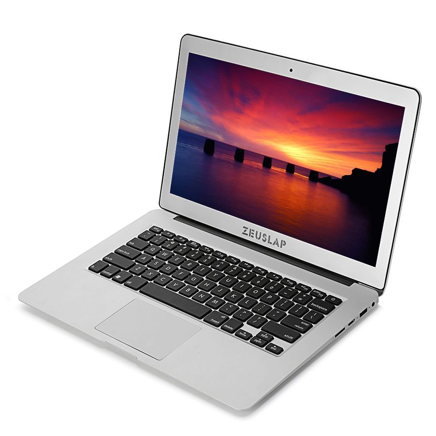 ZEUSLAP 13.3 inch Intel i5 CPU 4GB RAM 256GB SSD 1920x1080FHD Windows 10 System Fast Boot Ultrathin Laptop Notebook Computer