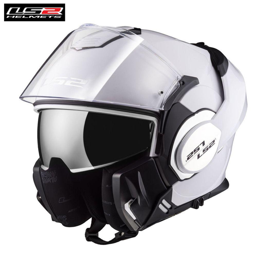 LS2 FF399 Modular Flip Up Motorrad Helm Full Face Casque Capacete Casco Moto Öffnen Helme Kask Helm Touring Motocyklowy