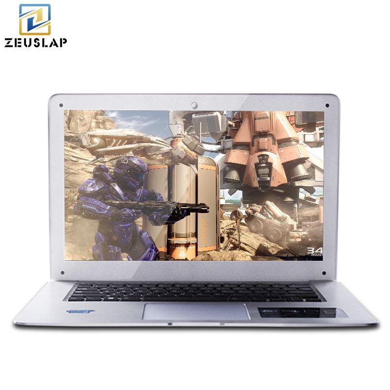 ZEUSLAP-A8 14 zoll 1920X1080 P FHD 8 GB RAM + 256 GB SSD + 1 TB HDD Windows 10 System Ultradünne Dual Festplatten Laptop Notebook-Computer