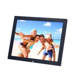 15 Inch TFT Screen LED Backlight High-Definition Digital Photo Frame Electronic Album Picture/Music/Video Porta Retrato Digital