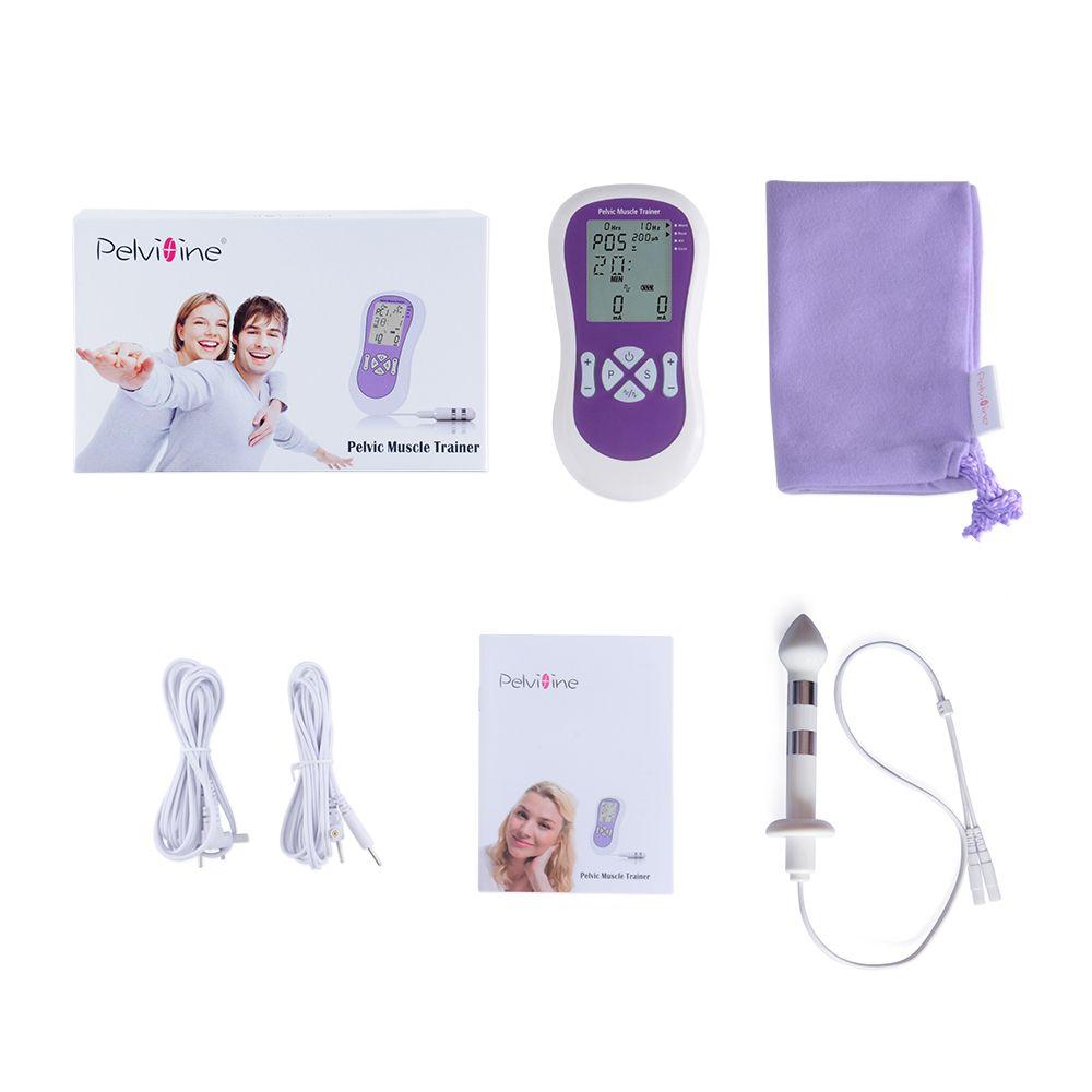 Appareil d'entraînement électrique de Muscle pelvien appareil d'entraînement de Kegel avec la sonde d'électrode anale pour la thérapie d'incontinence d'hommes