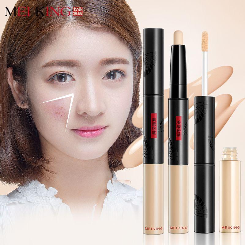 MEIKING Pro Stick Correcteur Visage Primer Base Autocollant Fondation contour Cosmétiques Maquillage acné Fondation crème