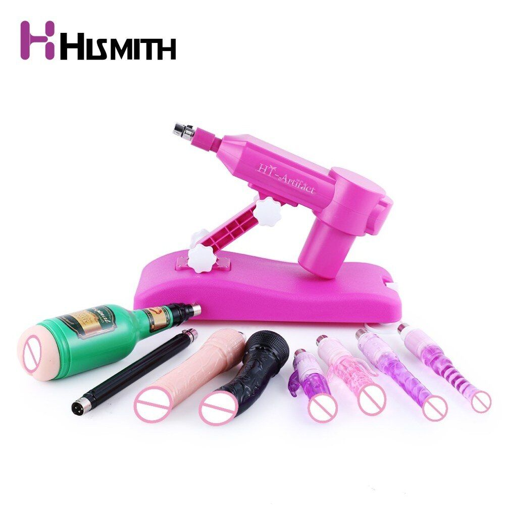 Hismith Water Injection Sex Machine with 8PCS different Attachments Dropshipping AU EU US UK Plug