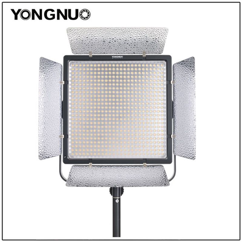 YONGNUO YN860 Bi-Color Super Powerful LED Video Light with 3200k-5500k Adjustable Color Temperature for the SLR Cameras Camcorde