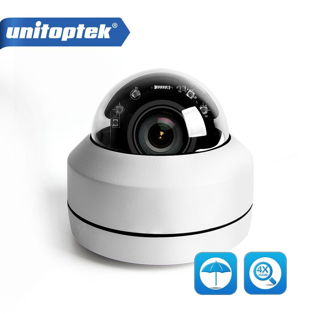 2MP 5MP Full HD PTZ IP Camera Outdoor Mini Speed Dome Cam IP Onvif 4X Zoom P2P 40m IR Night Vision ip66 Waterproof POE Optional