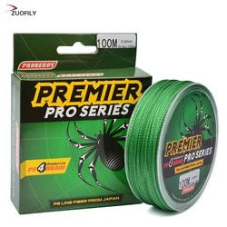 100M Super Strong Braided Wire Fishing Line 6-100LB 0.4-10.0 PE Material Multifilament Carp Fishing For Fish Rope Cord