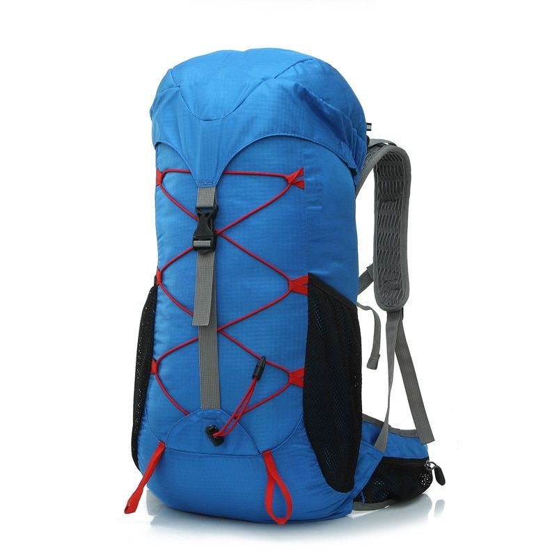 35L Outdoor Men Camping Hiking Waterproof Ultralight Backpack Luggage Women Travel Mountain Rucksack Double Shoulder Bag Pack