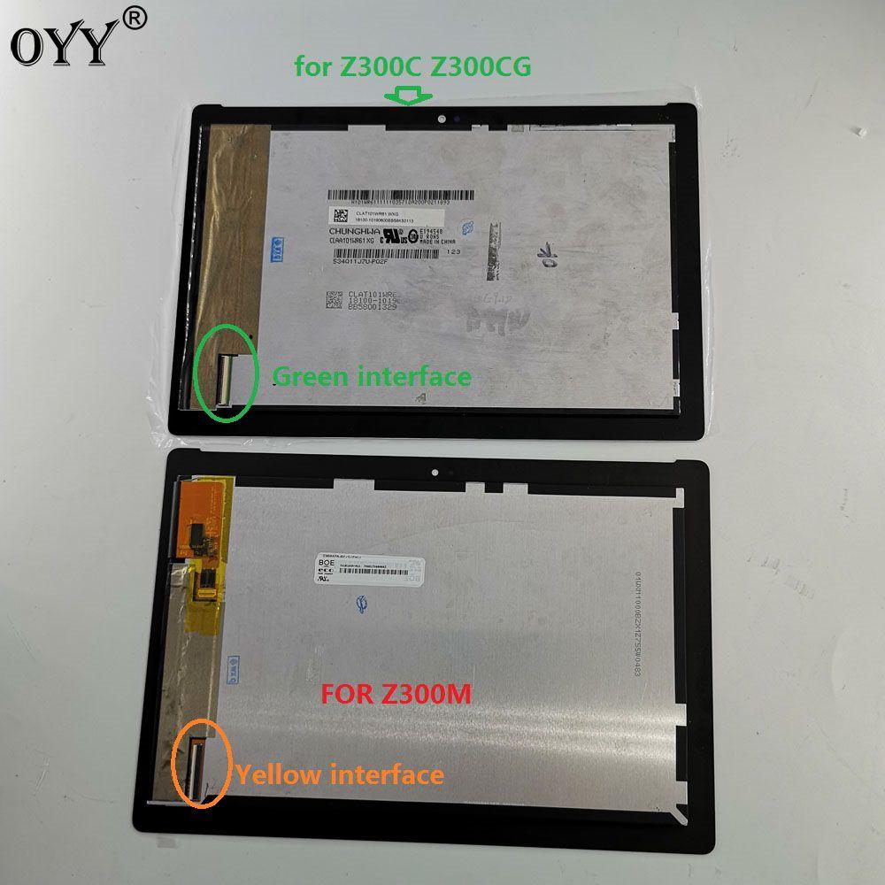 10.1 inch For ASUS ZenPad 10 Z300 Z300C Z300M P021 P00C LCD Display Matrix Touch Screen Digitizer Assembly
