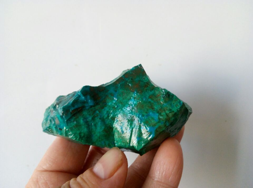 701 Carat Lots of Chrysocolla & Turquoise Rough - Plus a FREE Faceted Gemstone