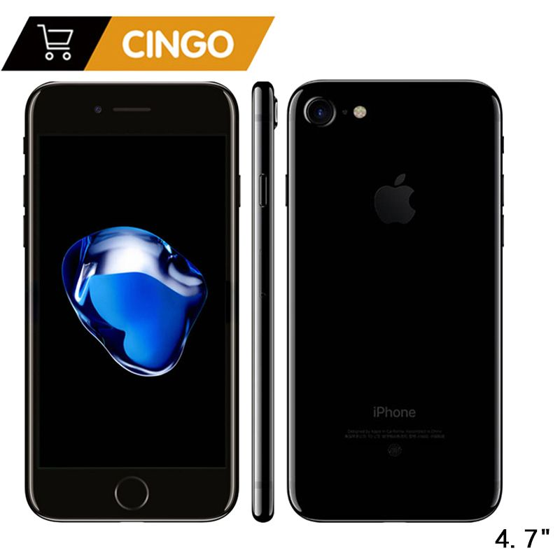Entsperrt Apple iPhone 7 IOS Quad Core 32/128 gb/256 gb 12.0MP Kamera Fingerprint 12MP 2910mA LTE handy