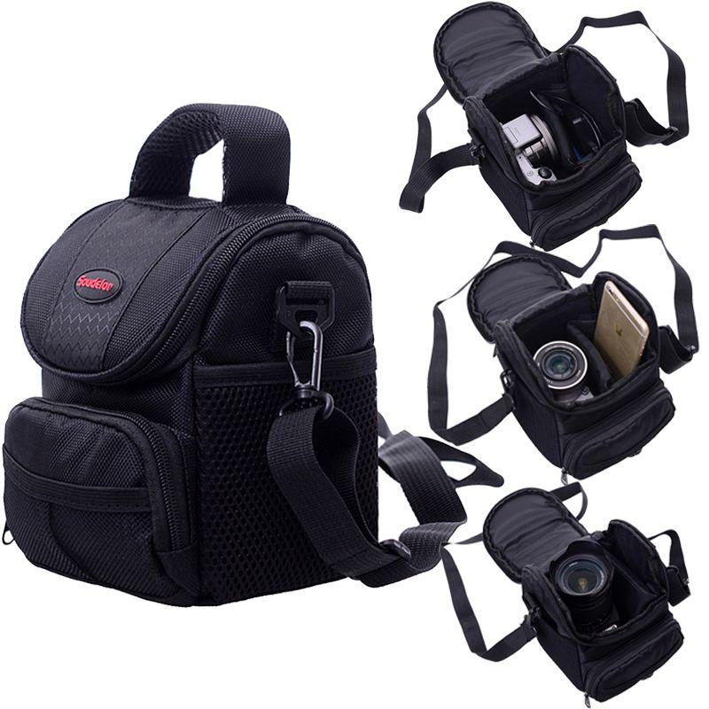 Étui pour appareil photo Pour Canon EOS 200D 1200D 1300D M50 M100 M10 M6 Pour Nikon B700 B500 PowerShot G1 X Mark III SX60 SX540 SX70 G5X