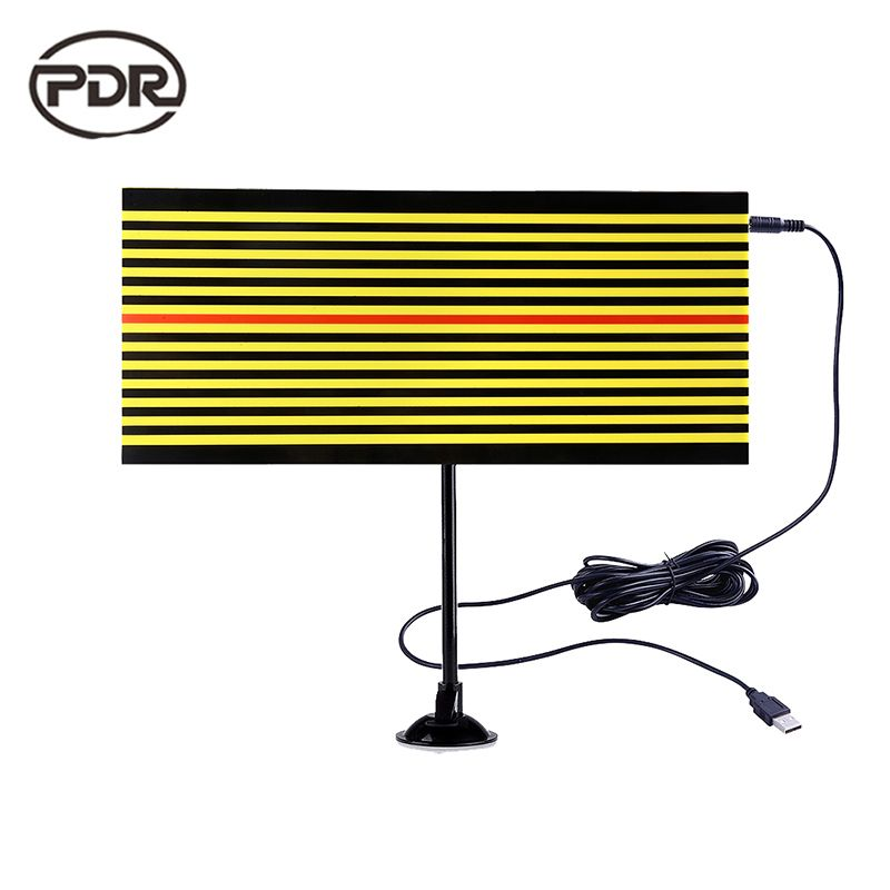 PDR Tools LED Lamp Reflector Board LED Light Line Board Dent Removal Paintless Dent Repair Tools Hand Tools Kit Ferramentas