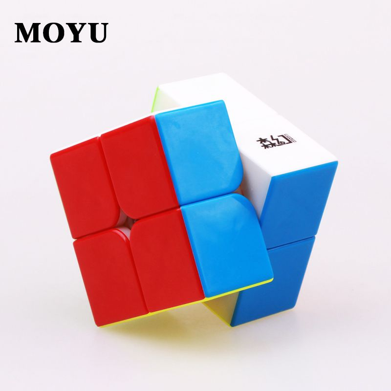 Moyu cubo senhuan 2x2x2 magic cube professional speed magnet puzzle cubes stickerless magnetic cubo magico toys for children