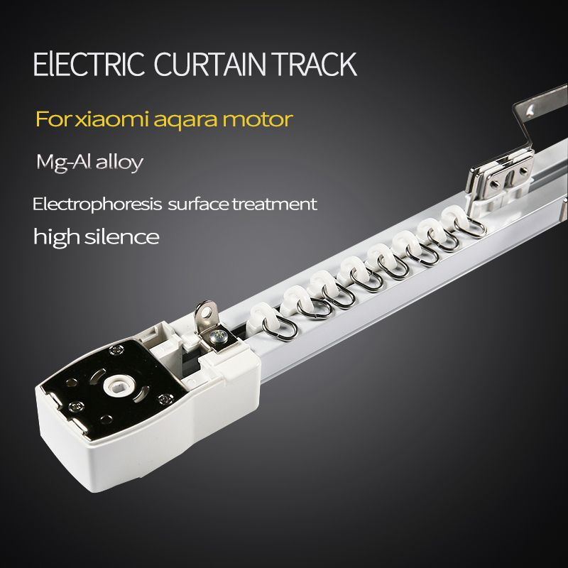 High Quality Customizable Super Quite silence Electric Curtain Track for Aqara /KT82TN Curtain Motor for smart home