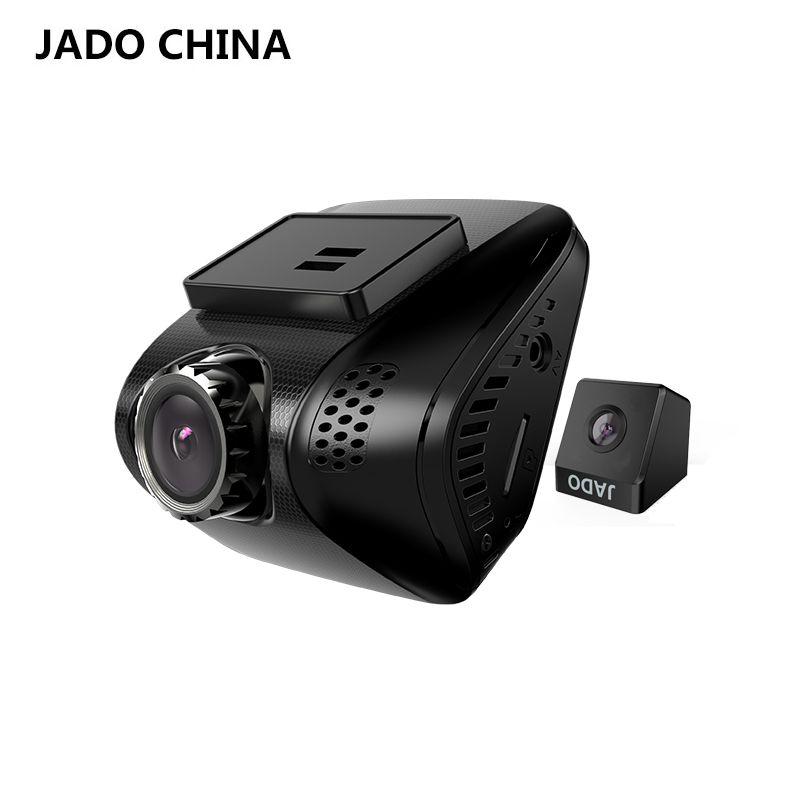 JADO D770S 2.0 Car Dvrs Full HD 1080P Mini Car Dvr with two cameras Video Recorder 140 degree Car Camera Registrar Dash cam
