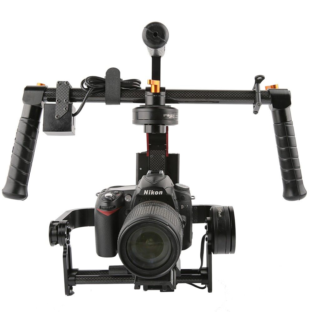 RTU iFlight G15 3 Axis DSLR Handheld Brushless Gimbal w/joystick 32 bit Simple BGC for 5D/GH3/GH4/A7S/BMPCC